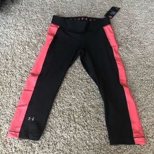 Under Armour Black & Pink Workout Pants